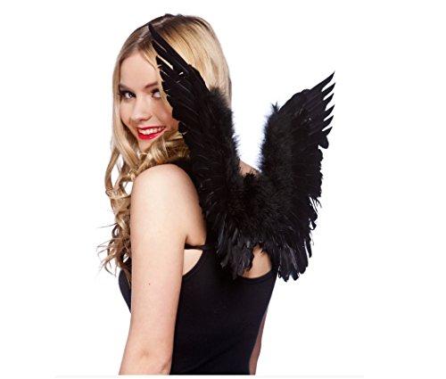 Small Feather Wings Black (20 S Und 30 S Kostüm Ideen)
