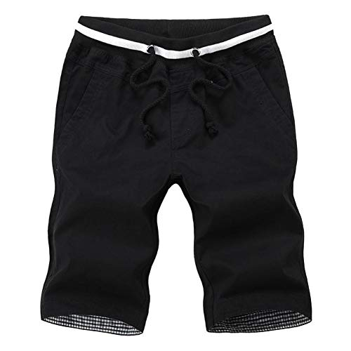 TOPDCO Sommer beiläufige Kurzschlüsse Männer Plaid Rand Baumwolle Kurze Hosen Art und Weise Streetwear Kurzschlüsse Bermuda Homme Kurz Pantalon Gericht Plus Größe Männer -