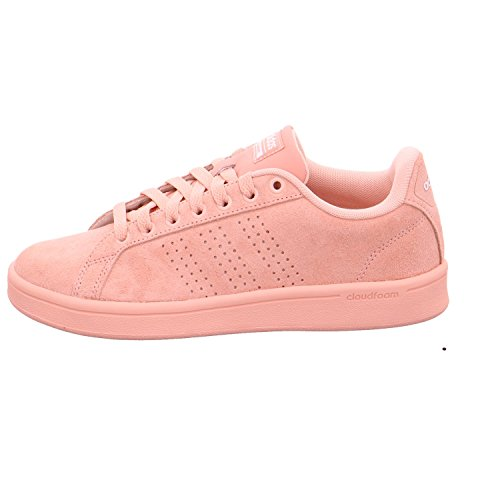 adidas Cloudfoam Advantage, Sneakers Basses Femme Rose (Rostra / Rostra / Ftwbla)