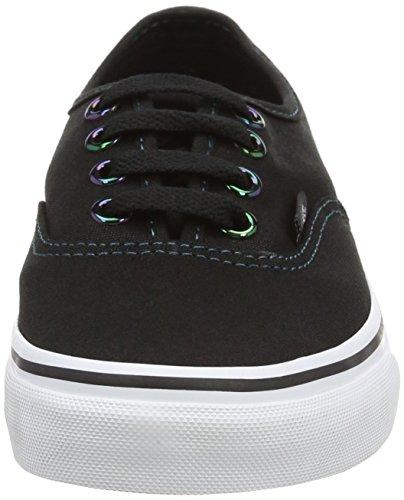 Vans Authentic Marble, Chaussures Mixte Adulte Noir (Iridescent Eyelets - Black/Multi)