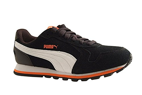 Puma St Runner Sd Jr Scarpa da Running, Unisex Bambino Puma Black-Puma White