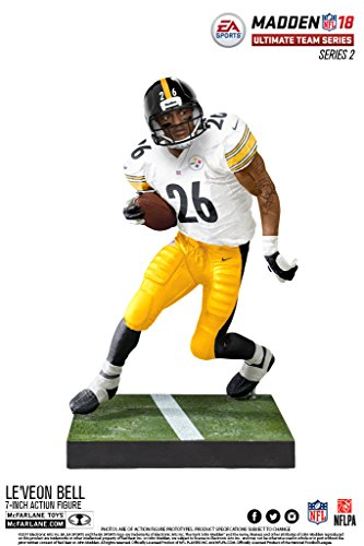 McFarlane NFL Madden 18 Ultimate Team Series 2 LE´VEON BELL #26 - Pittsburgh Steelers Figur
