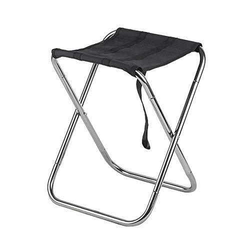 DEI QI Chaise Pliante, Mini-Chaise de pêche Portable pour Adulte, Multi-usages, Transport Ultra-léger, rehaussement de 40 cm