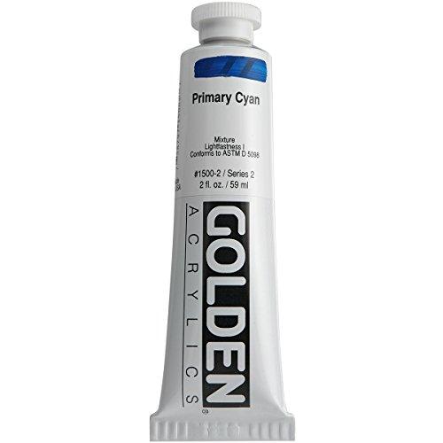 Pro-Art Wandbild Golden Heavy Body Acrylfarbe 2oz-Primäre Kamera Cyan -