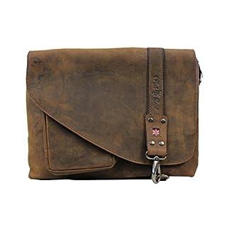 Pride and Soul - 47144 MRS NOEL - vintage shoulder bag, genuine leather, brown