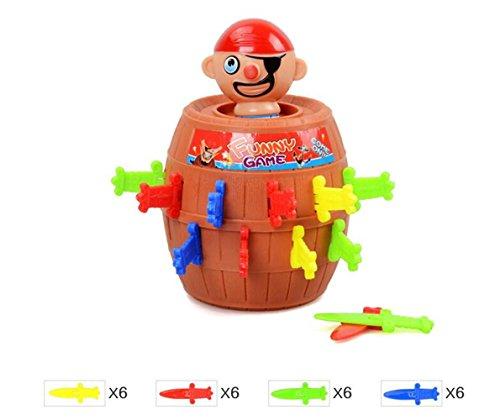 Qingsun Pic'pirate--Jeux de Société--Bureau Jeu de Puzzle pour enfants 0713445140292