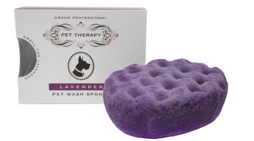 Pet Therapy Groom Professional Tranquil Lavender Sponge Shampoo Treatment