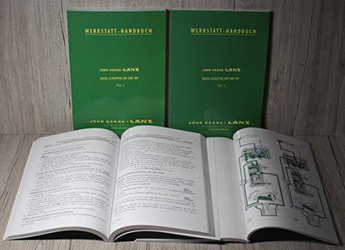 Werkstatthandbuch Traktor 300 und 500 (JDW20)
