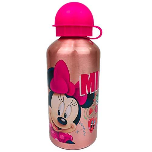 NADA HOME Disney Minnie Borraccia Bottiglia in allumino per Bambini 500 ml 1085