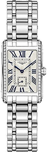 Longines L52550716 Ladies Steel Quartz Diamond Set DolceVita Watch L5.255.0.71.6 by Longines