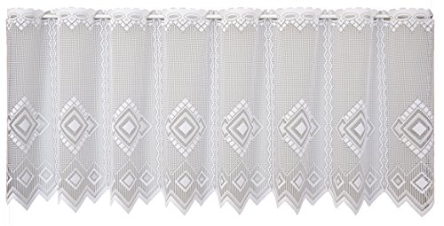 Anna cortina 8829773–50x 100bianco libby tenda, tessuto, bianco, 50x 100cm