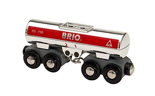 Brio Carro Cisterna Color Argento, Multicolore, 33472