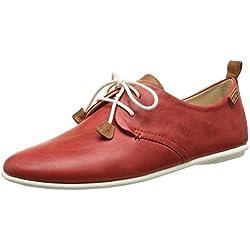 Pikolinos Calabria 917-7123 - Zapatos de Cordones para Mujer, color rojo (carmin), talla 38 EU