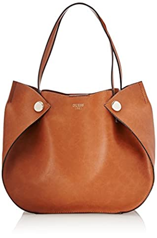 Guess Hwvg6783230, Sacs portés main femme, Marrone (Cognac), 13x22.5x28.5 cm (W x H L)