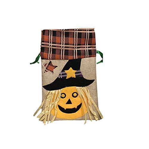 (Halloween Deko Grusel Dekoration Set Halloween-dekorative Einkaufstasche Kürbis 1 Packung für Halloweendeko Make-up-Party Halloween Dekoration)