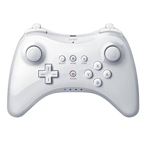 Stoga - Télécommande nunchuck Motion Plus pour Wii, avec étui, couleur bleu