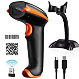 Tera 2D Wireless Barcode Scanner 2-in-1 2.4GHz wireless & USB 2.0 Wired 2D