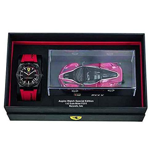 Scuderia Ferrari Hommes Analogique Quartz Montres bracelet avec bracelet en Silicone - 870030