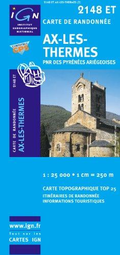 Ax-les-thermes : 1/25000