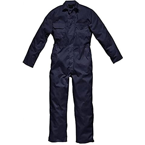 Mens Small, Navy British Designed Prestige Boilersuit Coverall Overalls Workwear