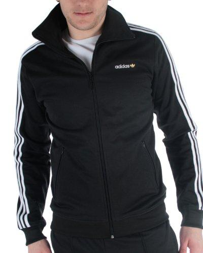 adidas Herren Sweatjacke SPO Beckenbauer Track Top, black/white, XL, (Black Spieler Der Hat)