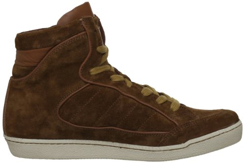 M by Monderer Shaq , Baskets mode homme Marron (Suede Marron)
