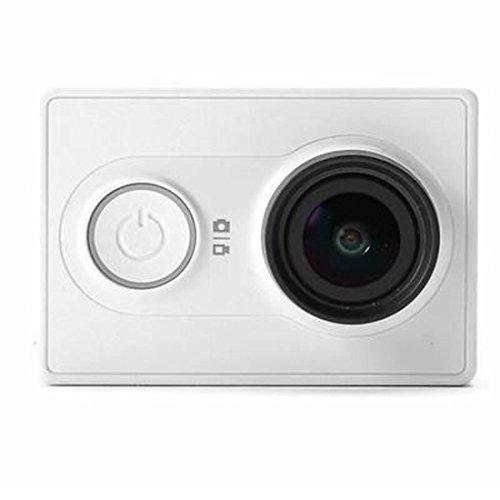 Originale Xiaomi yi Fotocamera Xiaoyi lo sport di azione 16MP Full HD 1080P 16MP WIFI Bluetooth 4.0 (White Camera)