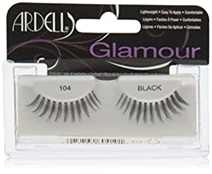 Ardell Natural Style Number 104 Eye Lashes, Demi Black