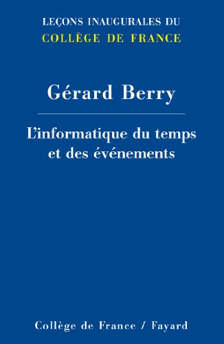 L'informatique du temps et des vnements (Collge de France)