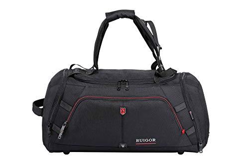 RUIGOR Motion 12 multifunktionale Herren Sporttasche Reisetasche 35 l wasserabweisend mit Schuhfach RGL6412 (Computer Ballistic Kurz)