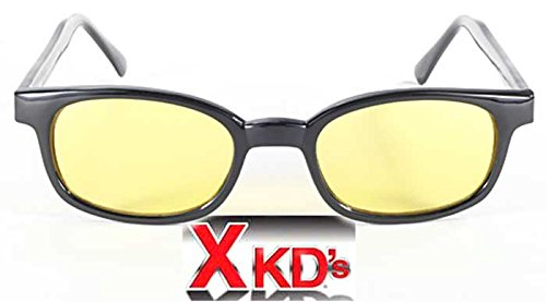 Preisvergleich Produktbild KDS Original Sonnenbrille X-Kd gelbe 10112 - Large Schwarz