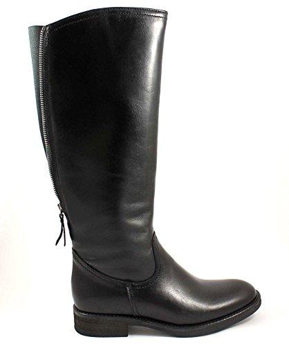 GRUNLAND GIò MISE ST0310 nero stivali donna cavallerizza zip polpaccio 39