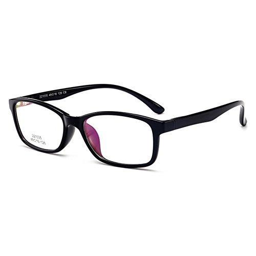 Preisvergleich Produktbild Mädchen Junge Brillen - TR90 Clear Lens Glasses Frame Geek / Nerd Brillen mit Car Shape Gläser Fall - hibote