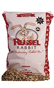 Supreme Russel Rabbit Food 15kg 15000g from Supreme