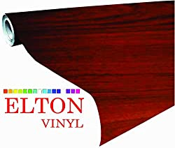 Elton Cedar Grain Oak Wood Adhesive Decorative Vinyl Shelf Liner 24 X 48 Inches