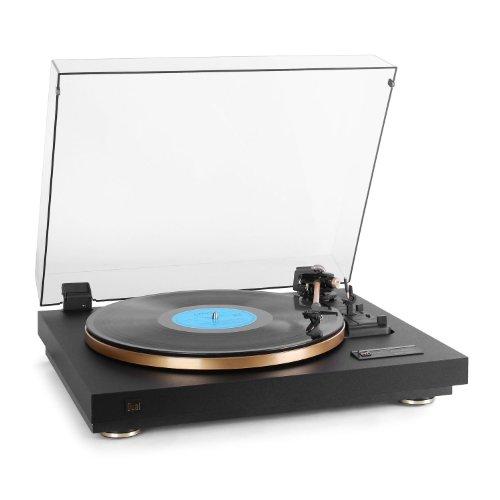 dual stereoanlage mit plattenspieler Dual CS 455-1 Vollautomatik-Plattenspieler schwarz/gold