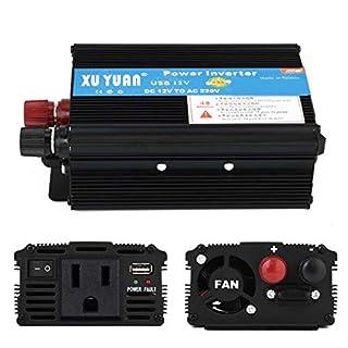 Wallfire 3000W / 4000W / 5000W Auto Solar Wechselrichter DC 12V zu Wechselstrom 110V / 220V Sinus-Wechselrichter (Size : 110v/3000W)
