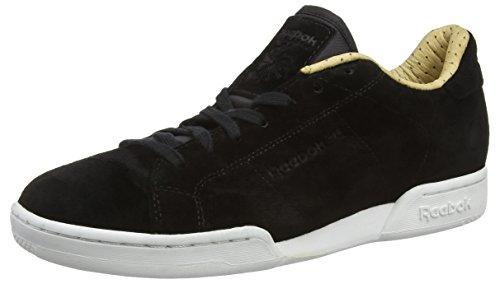 reebok-npc-ii-ps-herren-sneakers-schwarz-black-paperwhite-white-405-eu