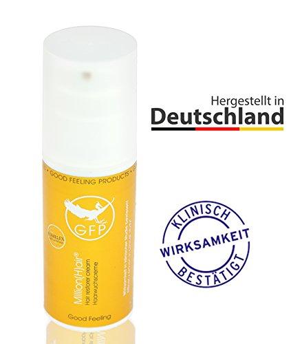 Million(H) air® - Das einzigartige und natürlich Haarwuchsmittel gegen Haarausfall mit dem Alleinstellungsmerkmal dem GFP-Komplex aus dem Zunderschwamm