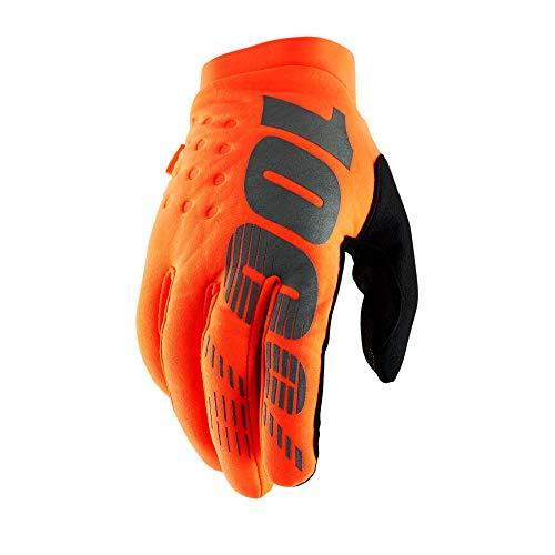 Preisvergleich Produktbild Unbekannt Herren Brisker 100% Handschuh XXL Fluro Orange / Black