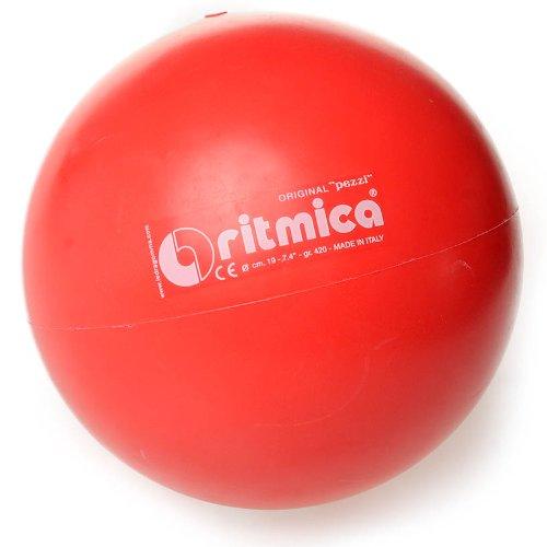 Original Pezzi Ritmica-Palla da ginnastica per Sport ginnastica, rosso