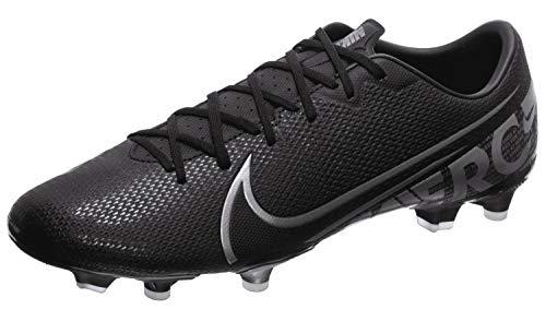 Nike Unisex-Erwachsene Vapor 13 Academy FM/GM Fußballschuhe, Mehrfarbig (Black/MTLC Cool Grey/Cool Grey 1), 44 EU