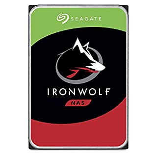 """Seagate 2 TB IronWolf Disque dur interne 3.5"""" pour NAS 1-8 Bay (5900 RPM, 64 MB Cache, 180 TB/year Workload Rating, Up to 180 MB/s, Model : ST2000VNZ04/VN004) (B07H2GY8ZV) 