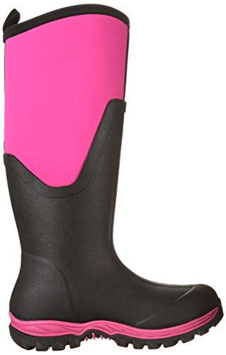 Stivali Di Gomma Damen Artico Sport Ii Alto Gummistiefel Rosa (nero / Rosa)