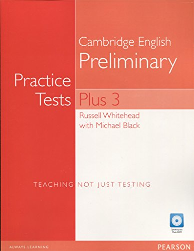 Practice tests. Plus PET. Without key. Per le Scuole superiori. Con espansione online. Con CD-Audio. Con CD-ROM: 3