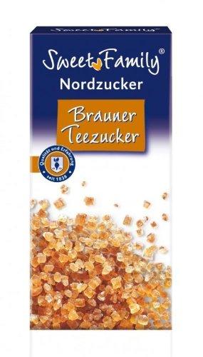 Sweet Family Nordzucker Brauner Teezucker 500g