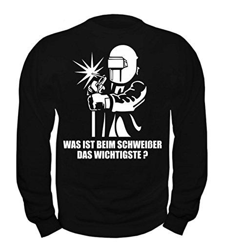 Spaß kostet Männer und Herren Pullover Schweißer mit W (mit Rückendruck)