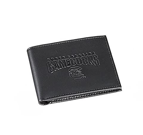 Team Sports America Leather South Carolina Gamecocks Bi-fold Wallet by Evergreen Enterprises, Inc.