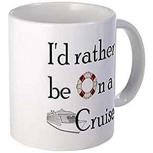 ilieniy Funny Mug-Id Rather Cruise Small Mug