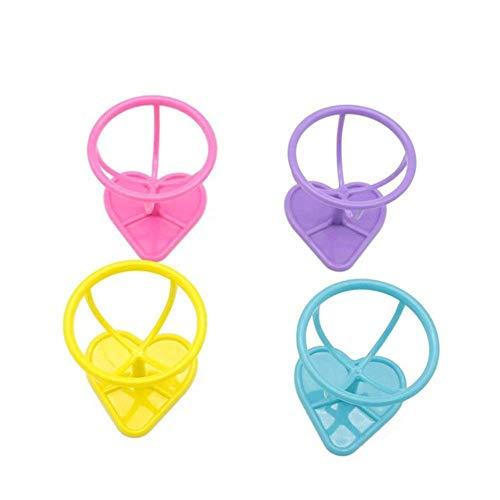 Myfei Maquillage Houppette support de séchage, œuf de beauté éponge de support support Rack pour femme, Lot de 4